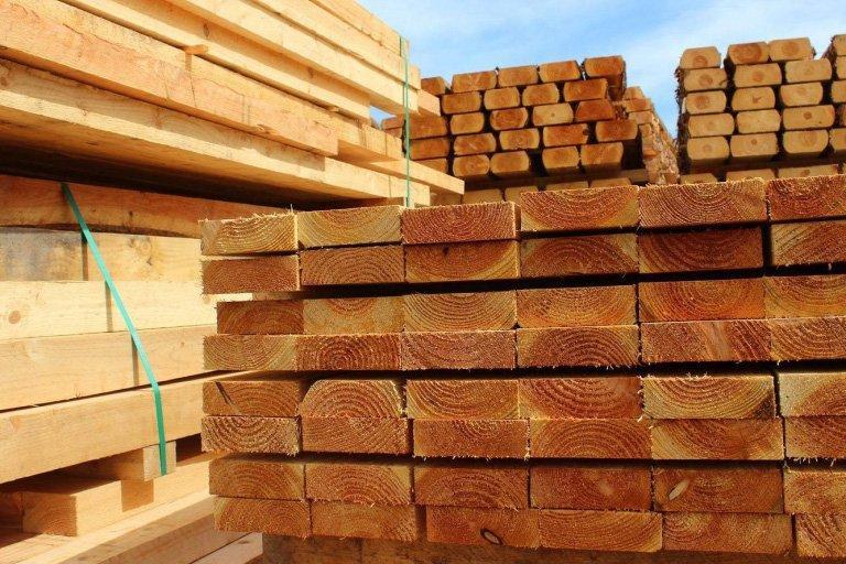 Динамика экспорта лесоматериалов