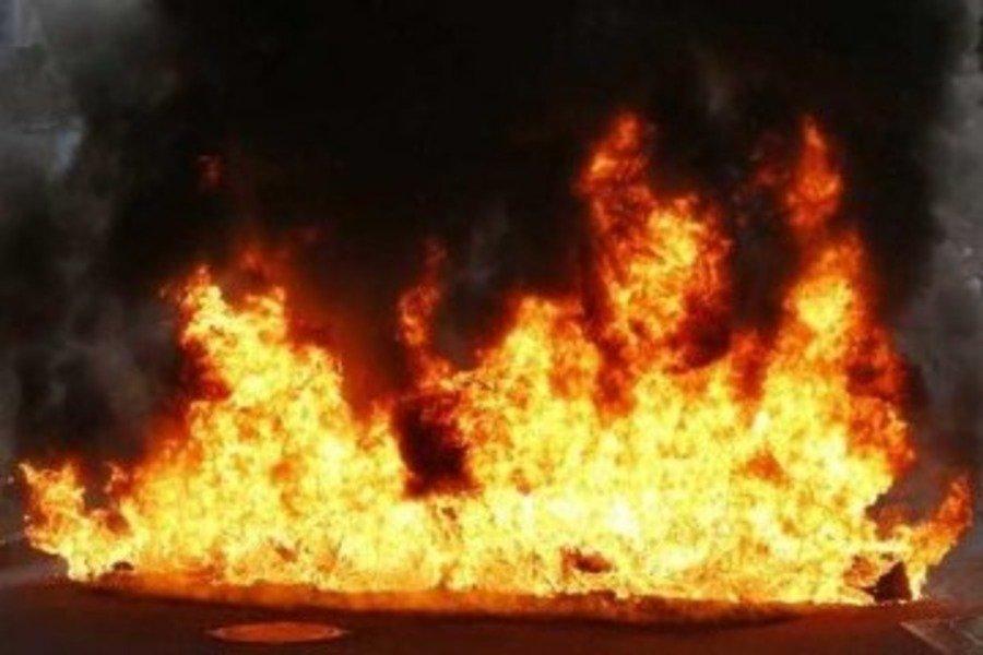 У Вінниці на заводі Barlinek сталася маштабна пожежа
