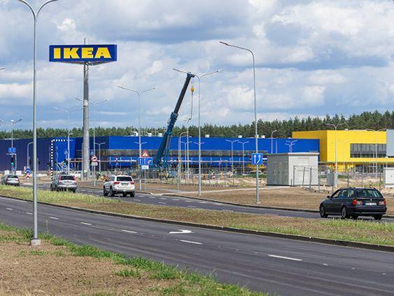 IKEA скупает леса в Балтии сотнями квадратных километров