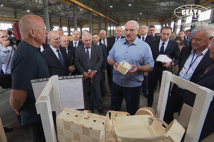 Лукашенко поручил оказать содействие частному бизнесу в развитии деревообработки