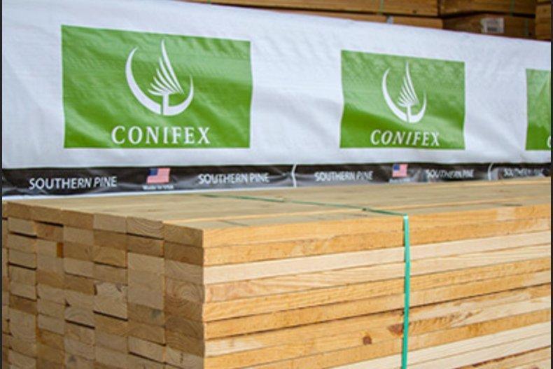 Conifex ожидает дальнейшего сокращения поставок пиломатериалов