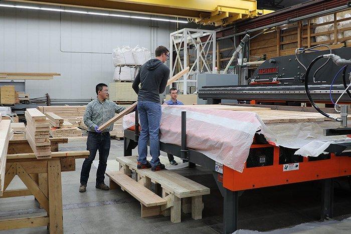 Американские исследователи разрабатывают композитную древесину с добавлением переработанного углеродного волокна
