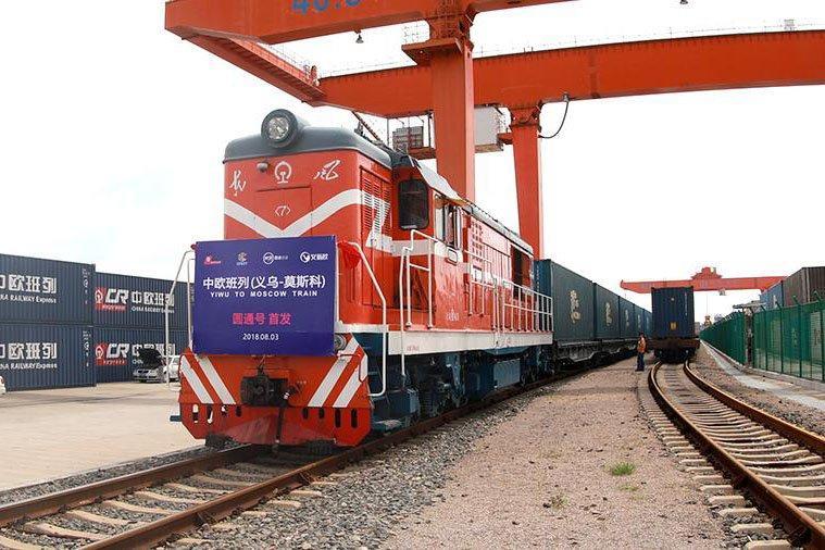 Грузовой поезд Китай-Европа доставил в Дунгуань более 1000 т древесины из Беларуси
