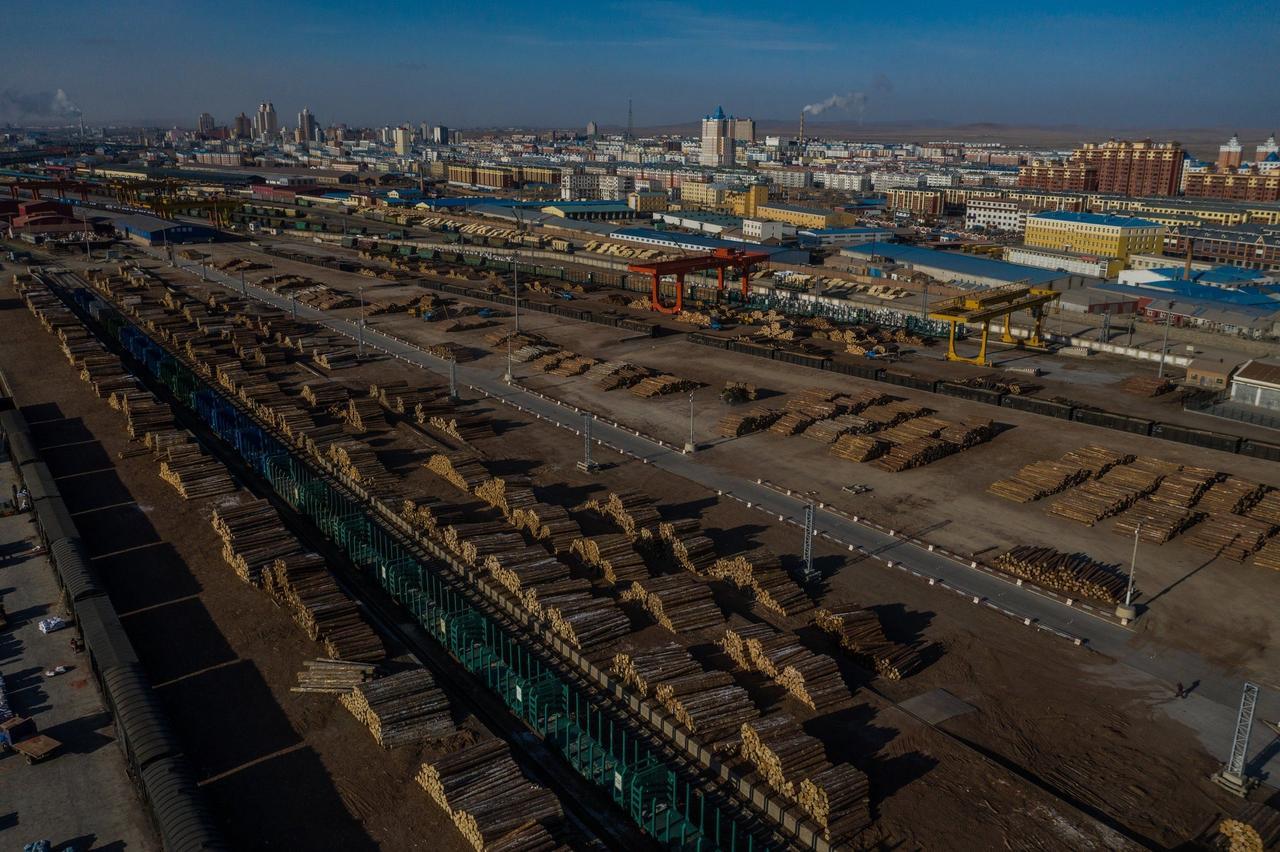 Импорт российской древесины в Китай: взгляд из США, России и Китая