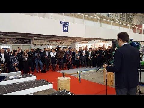 В.Галасюк відкрив LISDEREVMASH' 2018