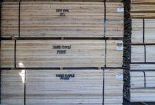 Слабый рынок лиственных пород США в Китае