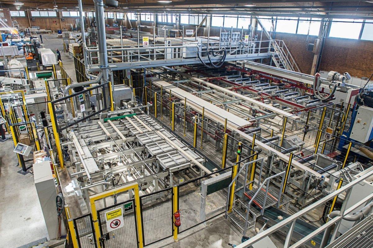 Эстонская Palmako AS запускает новую линию по производству клееного бруса