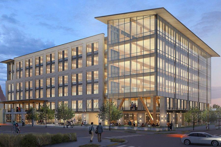 Расцвет строительства офисных зданий из массивной древесины в Техасе