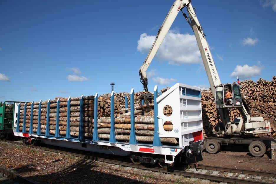 Железнодорожный холдинг ОВК поставит АО «Сбербанк Лизинг» вагоны для перевозки леса