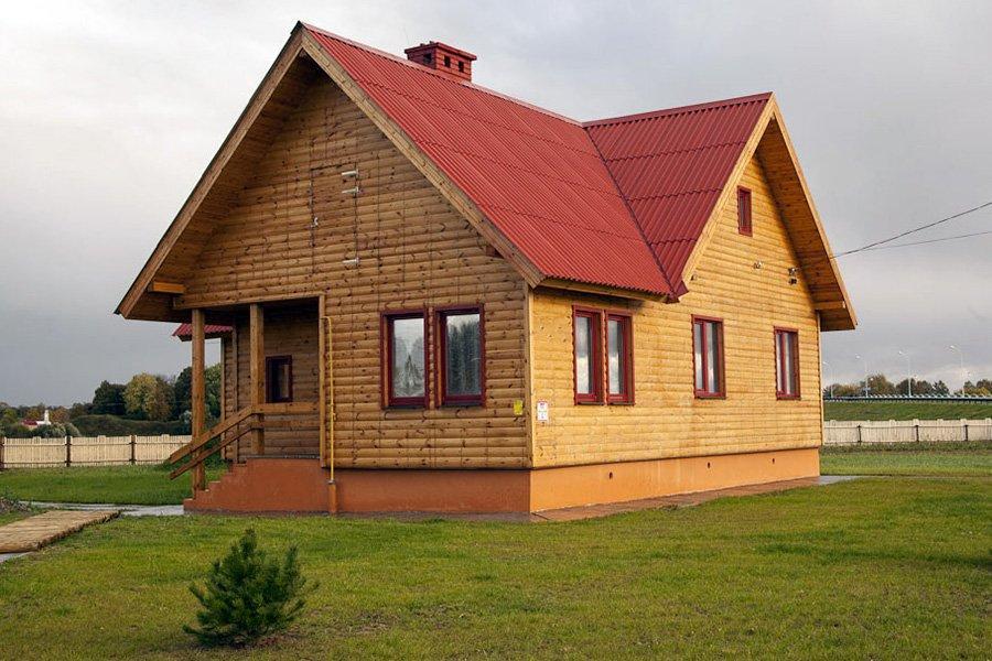 Белорусские деревянные дома впервые поставлены в Японию