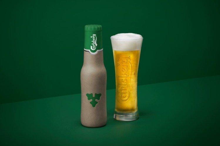 Компания Carlsberg представила бутылки из эковолокна