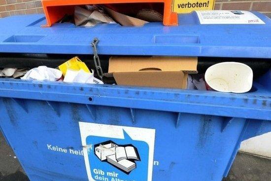 В Германии потребление бумажной продукции на душу населения составляет более 240 килограммов в год