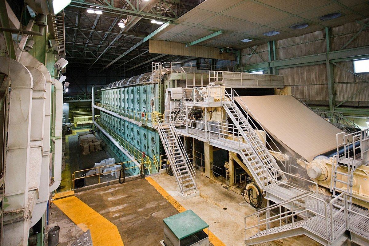 Корпорация Domtar сокращает производственные мощности в США