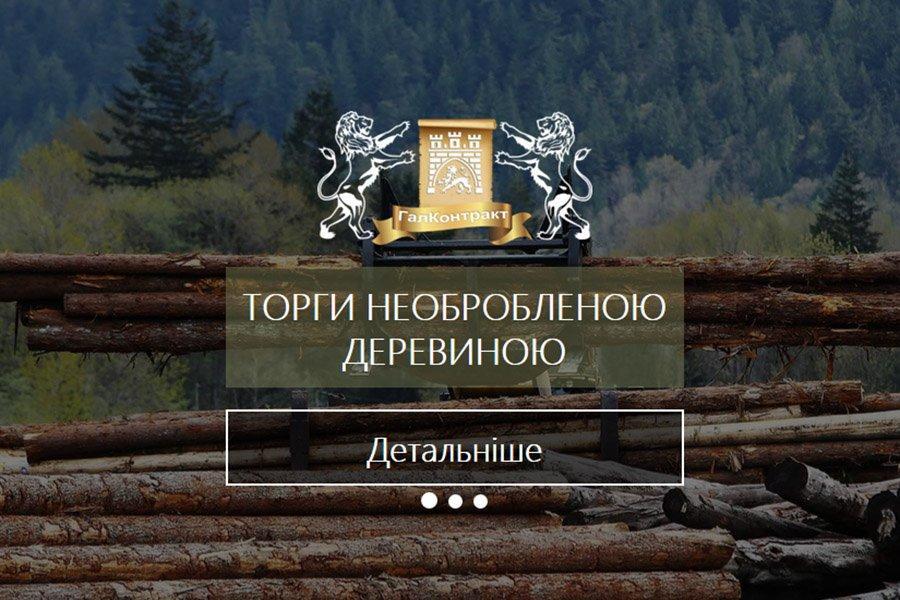 Додаткові електронні аукціонні торги з продажу необробленої деревини лісозаготівельними підприємствами Львівської області