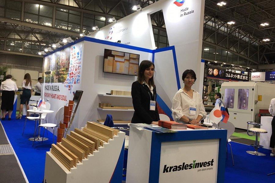 «Краслесинвест» представил свою продукцию на выставке в Японии