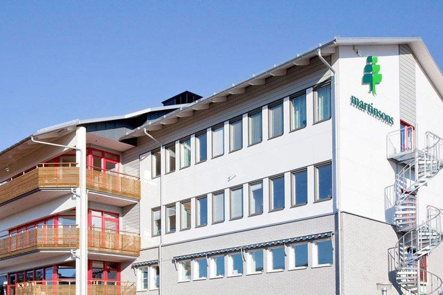 Martinsons инвестирует в свои лесопильные заводы в Швеции