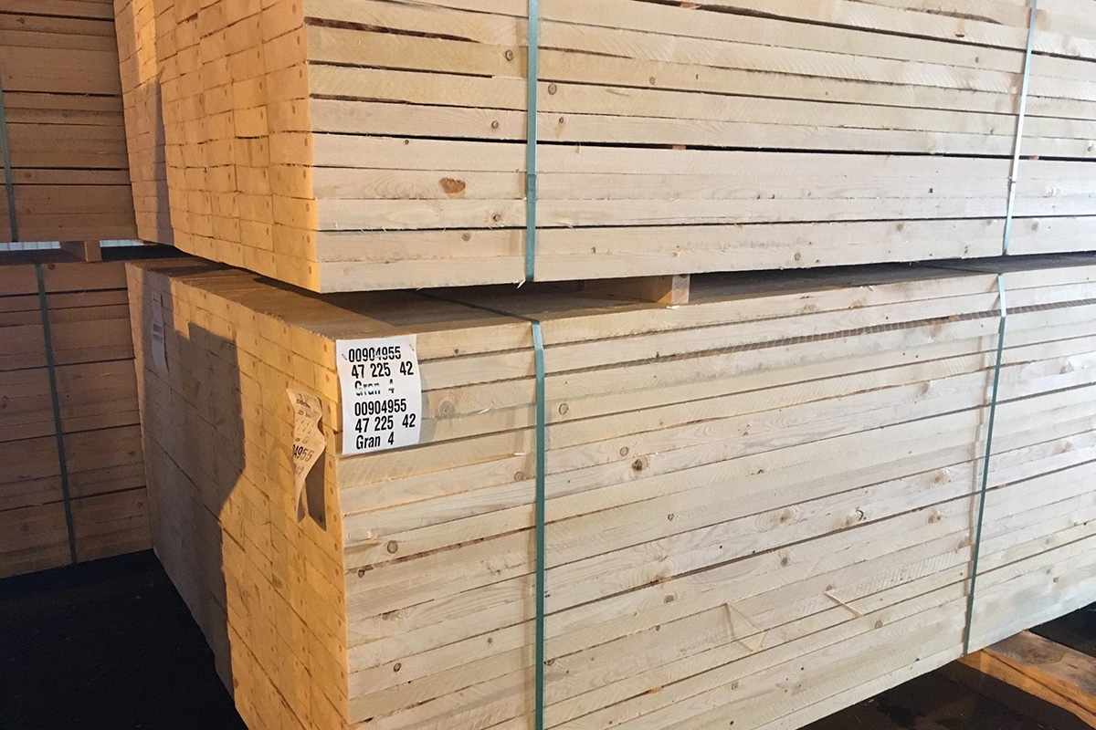 Bergs Timber сократит производство пиломатериалов на заводах в Швеции на 35 тыс. м3