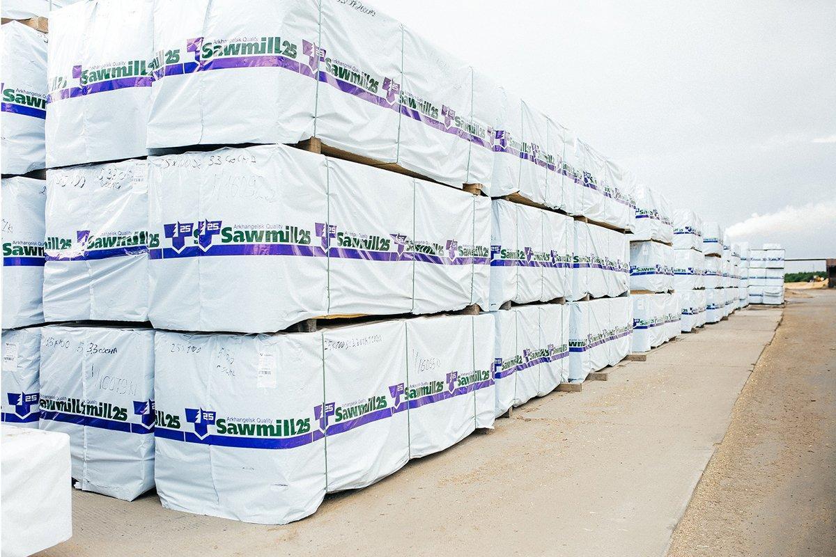 ЗАО «Лесозавод-25» наращивает экспортные поставки пиломатериалов