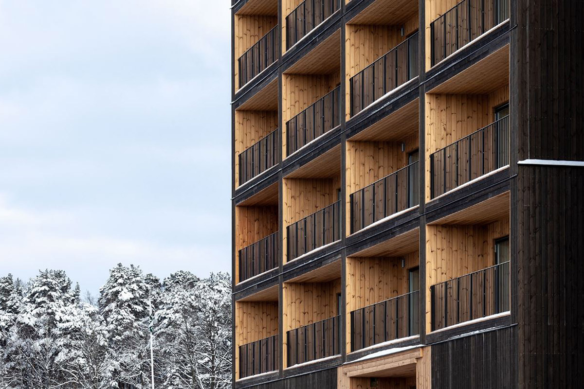 Европейский консорциум продвигает древесину в качестве главного выбора для многоэтажного строительства зданий