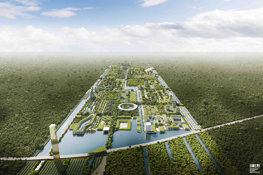 Stefano Boeri Architects проектирует «лесной город» для Мексики
