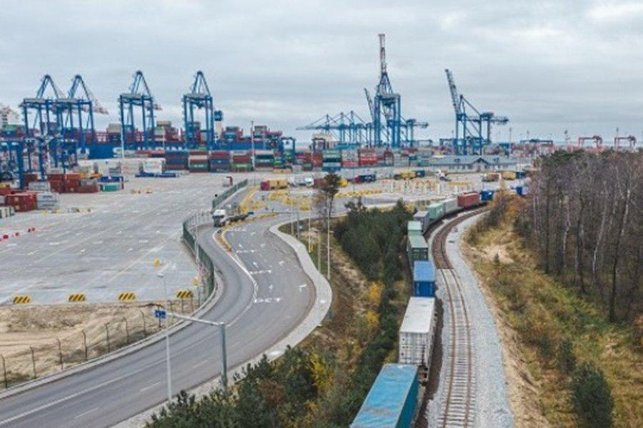 Поезд Европа-Китай совершает первый визит в Гданьск
