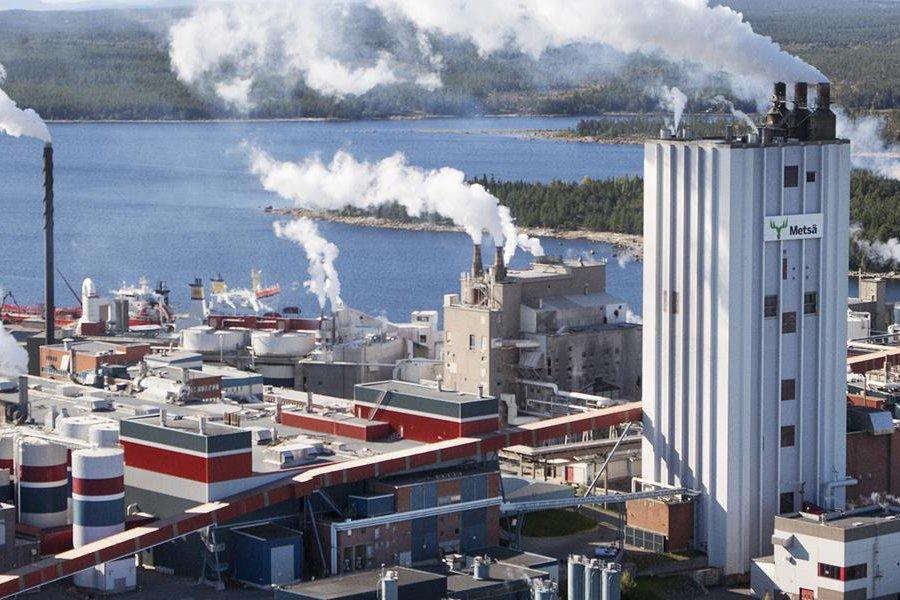Компания Metsä Board выбрала оборудование Valmet для модернизации целлюлозного завода Швеция
