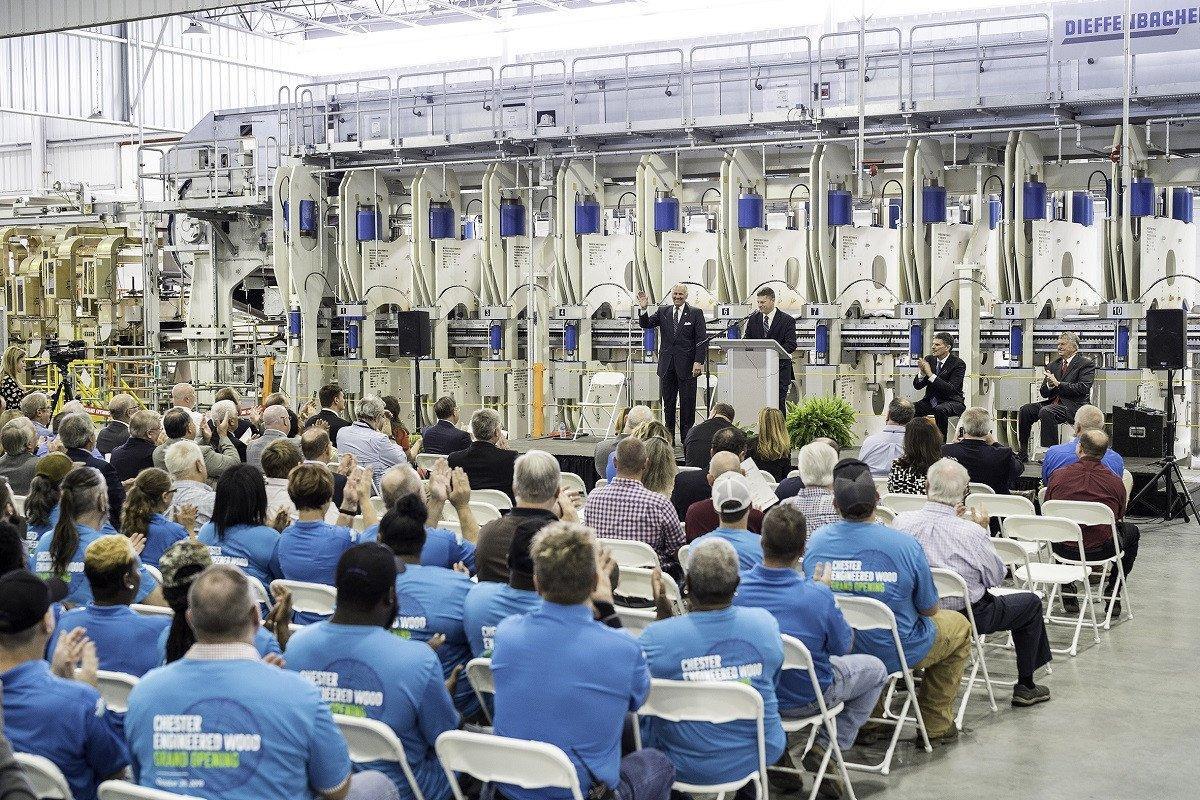 Компания Roseburg Forest Products открыла новый завод в США