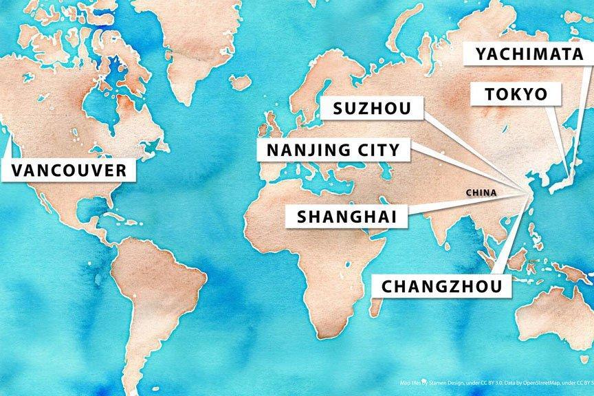 Лесопромышленные компании Британской Колумбии находят деловые возможности в Китае и Японии