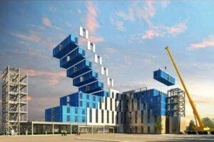 SBA Group входит в новый бизнес: производство модульных, экологически чистых многоэтажных зданий