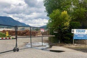 Лесопильный завод Tolko в Келоуне, округ Колумбия, окончательно закроется 8 января
