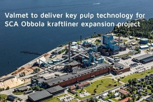 Valmet модернизирует линию производства целлюлозы на заводе SCA в Швеции