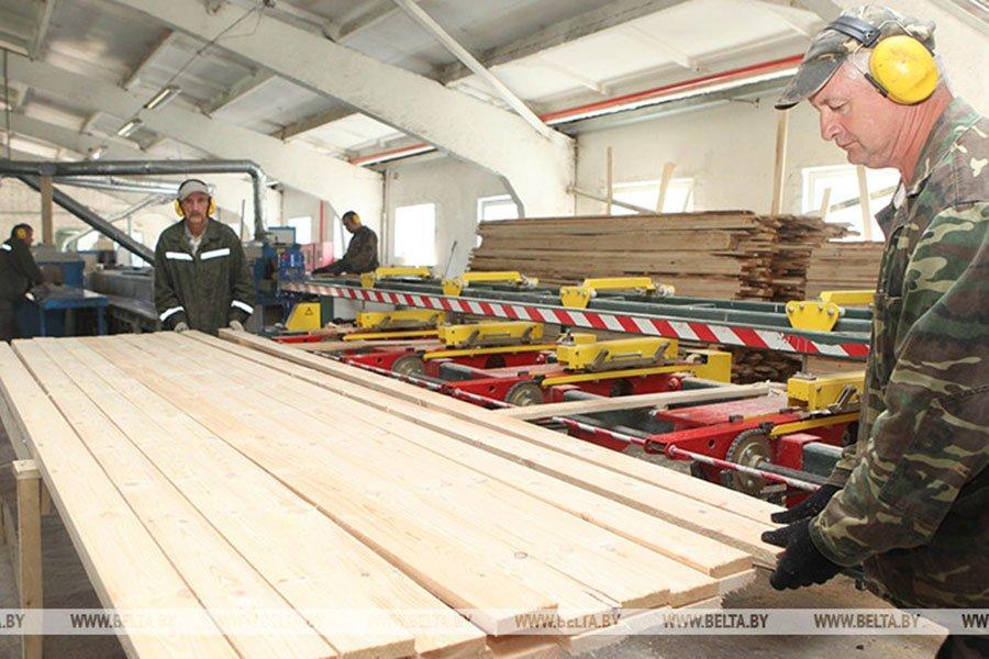 Китайские строительные компании готовы покупать белорусские пиломатериалы на бирже