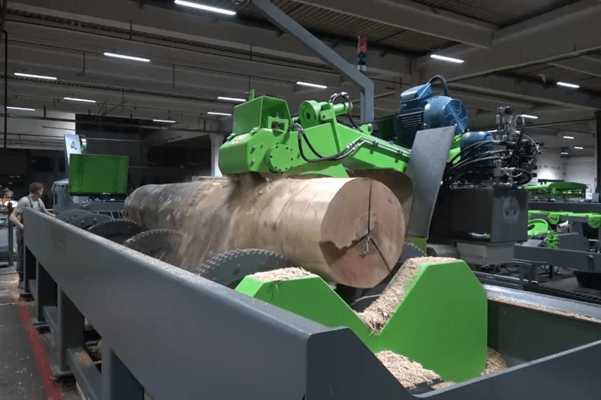 Mebor поставила станки и оборудование для лесопильного завода Krstako в Сербии