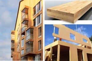 Когда в России начнут строить многоэтажные дома из CLT-панелей