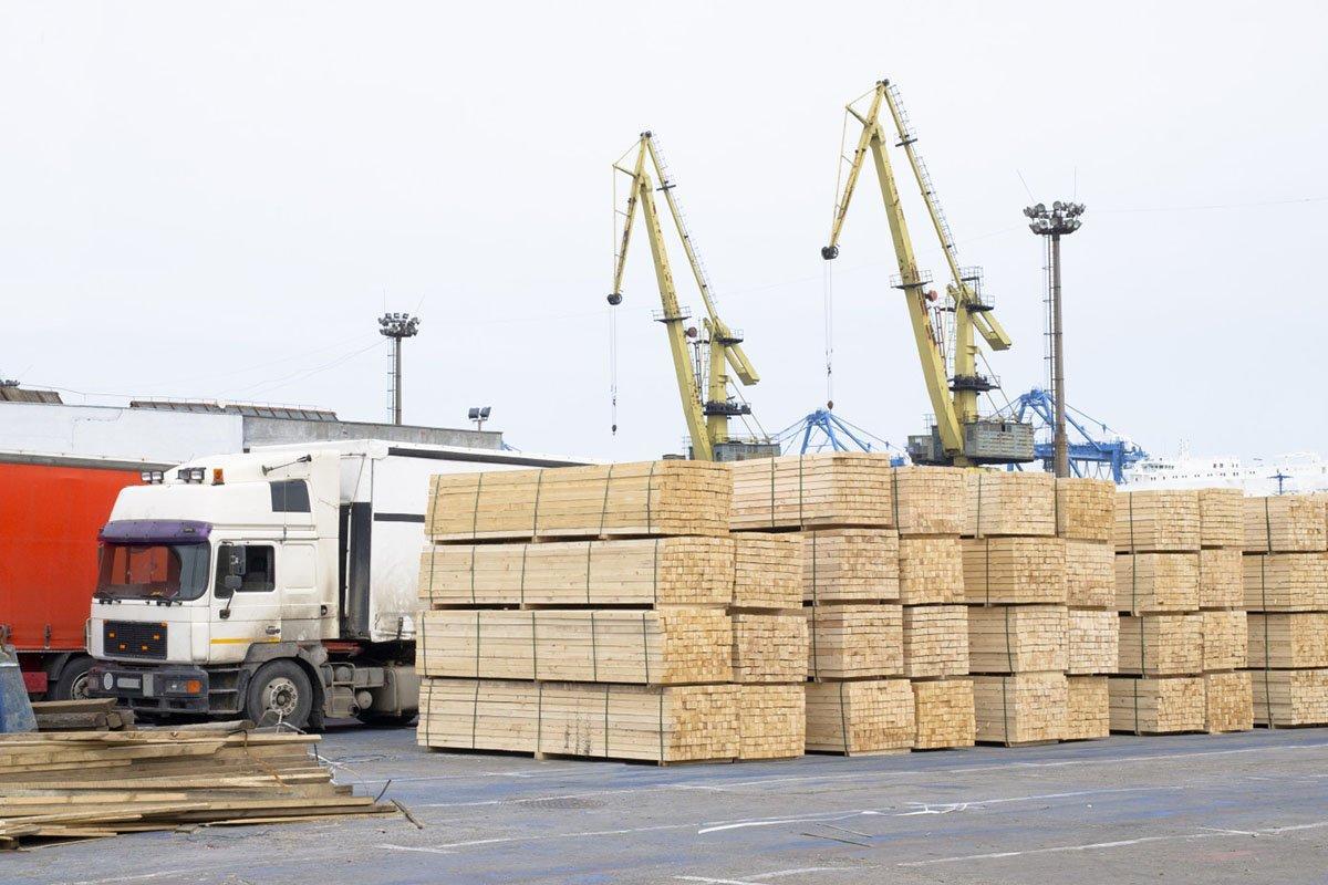 Лесной экспорт