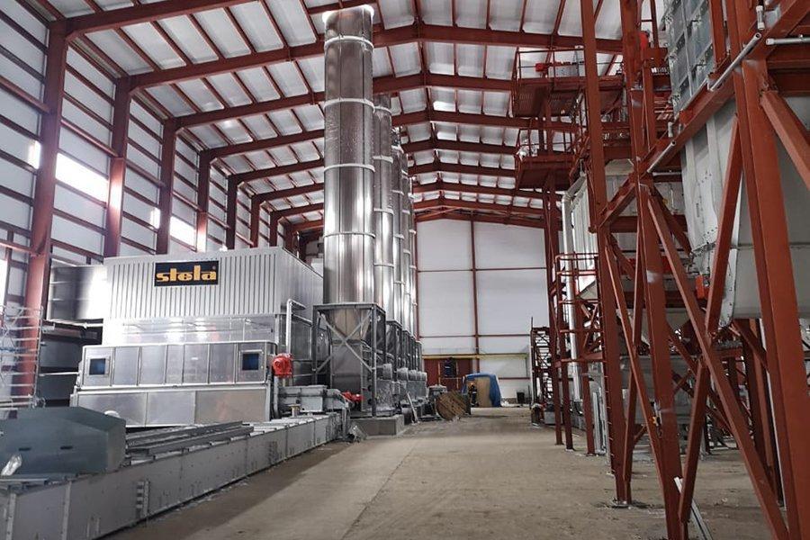 Продолжается строительство завода по производству топливных гранул в г. Амурске