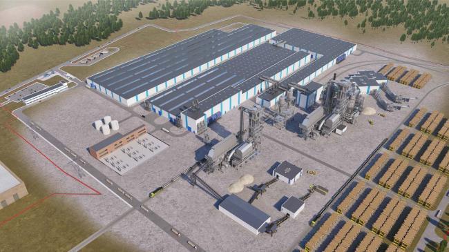 У Городку говорили про завод Kronospan, обладнання, фільтри та викиди