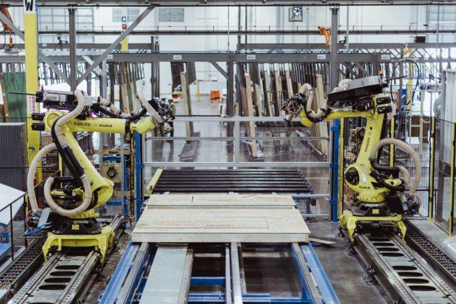 Katerra завершает строительство нового завода на западе США