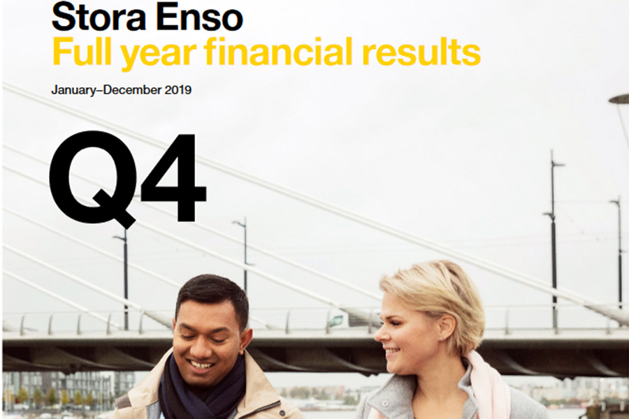 You are currently viewing В 4 кв. 2019 г. продажи Stora Enso снизились на 9,3%