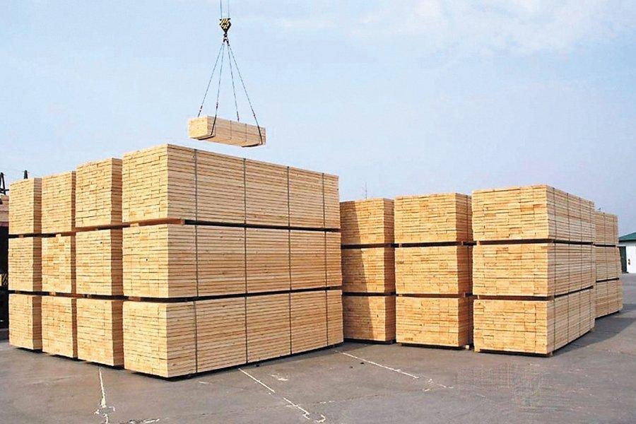 Россия зафиксировала рост экспорта пиломатериалов хвойных пород на 6%