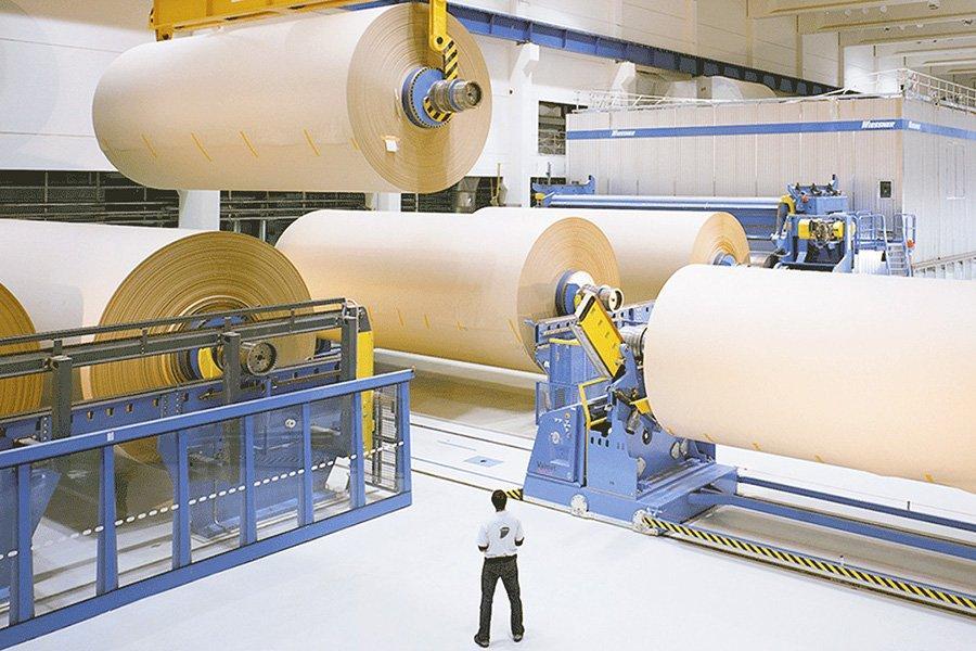 Финляндия сократила производство бумаги и картона