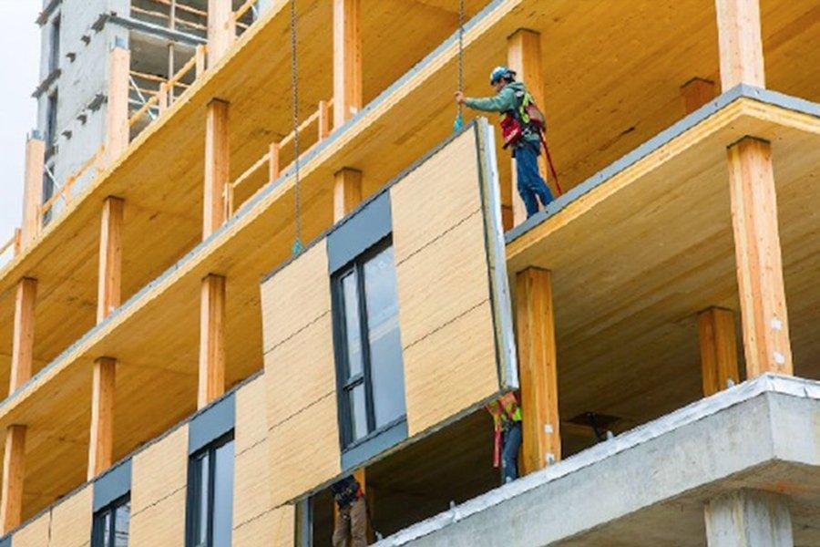 You are currently viewing Альберта теперь разрешит деревянное строительство до 12 этажей