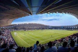 Футбольный стадион получил разрешение на строительство