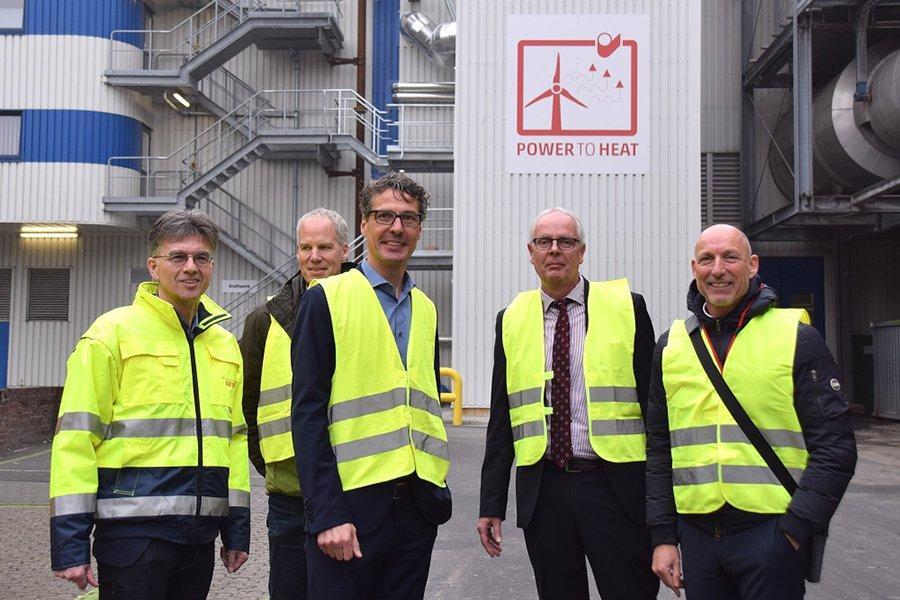 В Германии фабрика по производству бумаги и картона тестирует модуль защиты климата