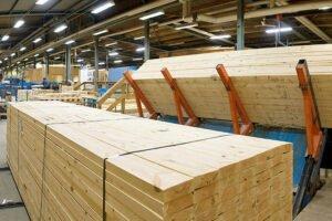 Производство пиломатериалов хвойных пород в Финляндии на уровне прошлого года