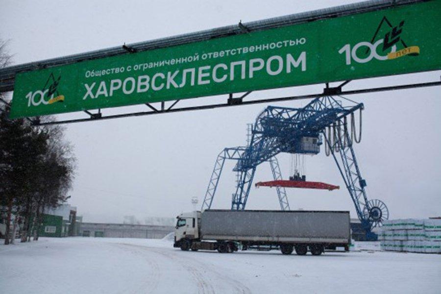 ОАО «РЖД» запустило контейнерный поезд с пиломатериалами из Вологодской обл. в Санкт-Петербург
