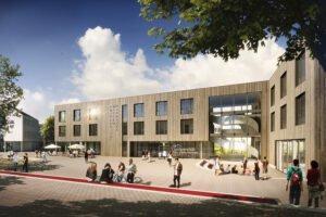 ZUBLIN Timber построит деревянный кампус для университета в Германии