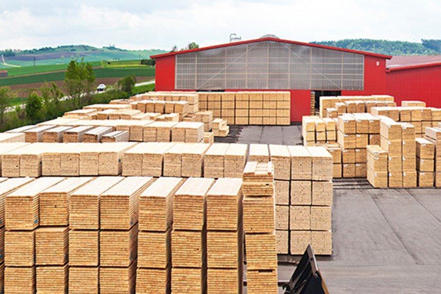 Германия: Рост производства строганых пиломатериалов выше среднего