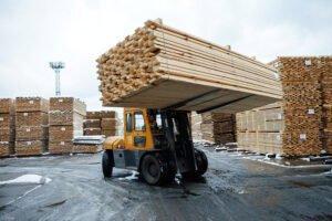 В январе 2020 г. Россия сократила производство пиломатериалов на 2,3%