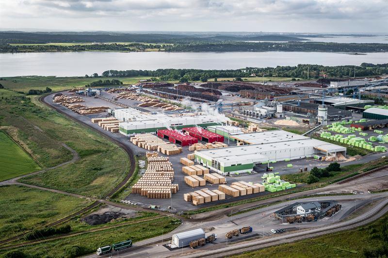 Södra инвестирует  в лесопильный завод в Вяре